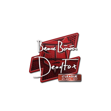 Sticker DeadFox | Atlanta 2017