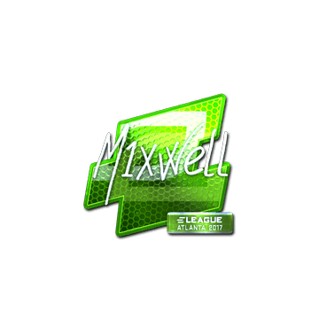 Sticker mixwell (Foil) | Atlanta 2017