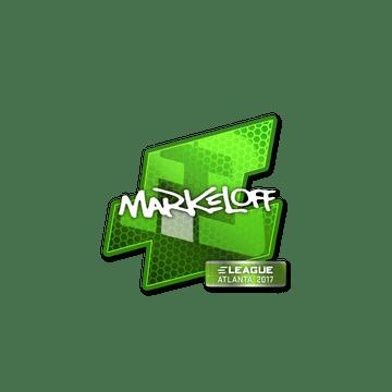 Sticker markeloff | Atlanta 2017
