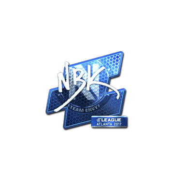 Sticker | NBK- (Foil) | Atlanta 2017