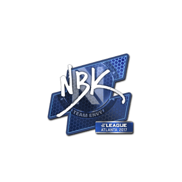 Sticker NBK- | Atlanta 2017