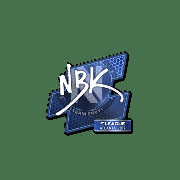 Sticker NBK- | Atlanta 2017
