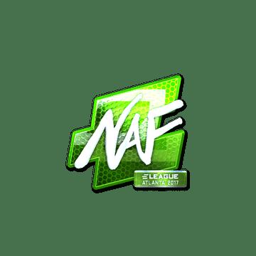 Sticker | NAF (Foil) | Atlanta 2017