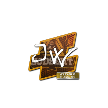 Sticker JW | Atlanta 2017