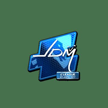 Sticker jdm64 (Foil) | Atlanta 2017