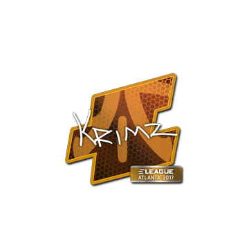Sticker KRIMZ | Atlanta 2017