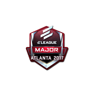 Sticker ELEAGUE (Foil) | Atlanta 2017