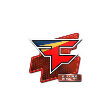 Sticker FaZe Clan | Atlanta 2017