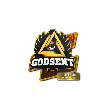 Sticker GODSENT | Atlanta 2017