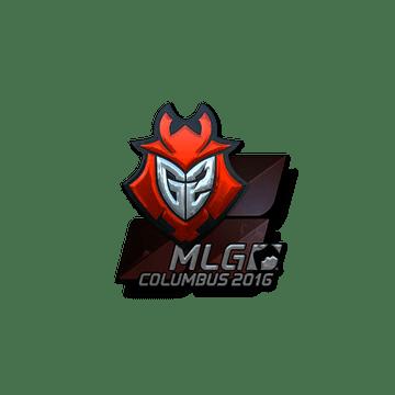 Sticker G2 Esports (Foil) | MLG Columbus 2016