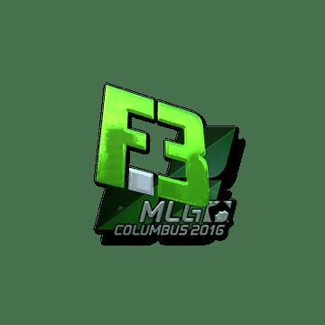 Sticker Flipsid3 Tactics (Foil) | MLG Columbus 2016