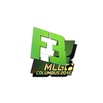 Sticker Flipsid3 Tactics (Holo) | MLG Columbus 2016