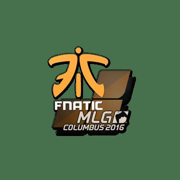 Sticker Fnatic | MLG Columbus 2016