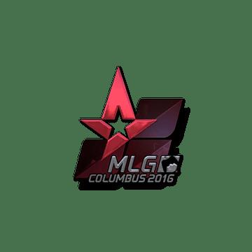 Sticker Astralis (Foil) | MLG Columbus 2016