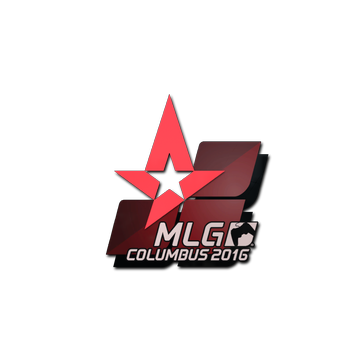 Sticker Astralis | MLG Columbus 2016