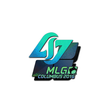 Sticker Counter Logic Gaming (Holo) | MLG Columbus 2016