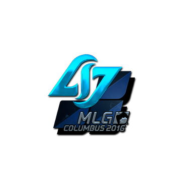 Sticker Counter Logic Gaming (Foil) | MLG Columbus 2016