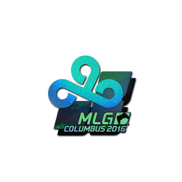 Sticker Cloud9 (Holo) | MLG Columbus 2016