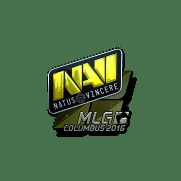 Sticker Natus Vincere (Foil) | MLG Columbus 2016