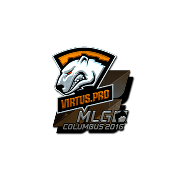 Sticker Virtus.Pro (Foil) | MLG Columbus 2016