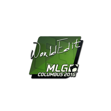 Sticker | WorldEdit | MLG Columbus 2016