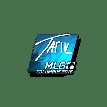 Sticker tarik (Foil) | MLG Columbus 2016