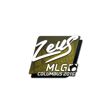 Sticker Zeus | MLG Columbus 2016