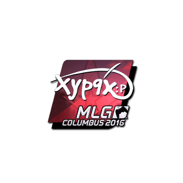 Sticker Xyp9x (Foil) | MLG Columbus 2016
