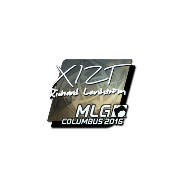 Sticker Xizt (Foil) | MLG Columbus 2016