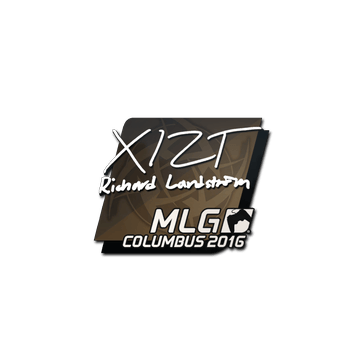 Sticker Xizt | MLG Columbus 2016