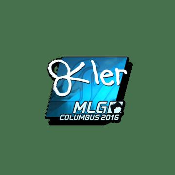 Sticker reltuC (Foil) | MLG Columbus 2016