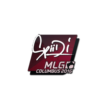 Sticker Spiidi | MLG Columbus 2016