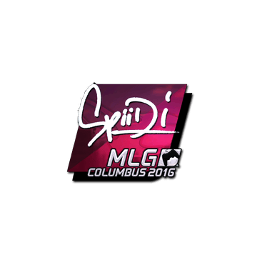 Sticker Spiidi (Foil) | MLG Columbus 2016
