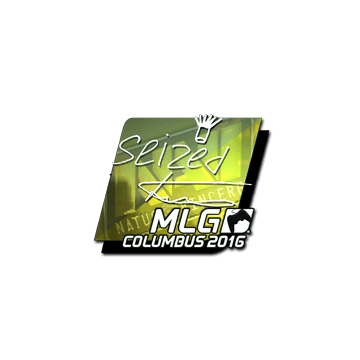 Sticker seized (Foil) | MLG Columbus 2016