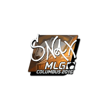 Sticker | Snax (Foil) | MLG Columbus 2016