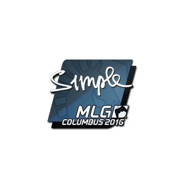 Sticker s1mple | MLG Columbus 2016