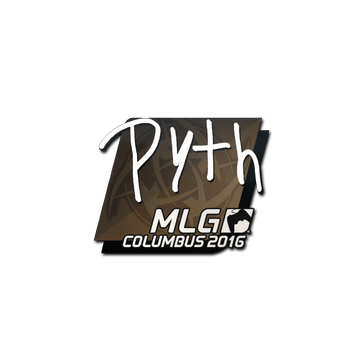 Sticker pyth | MLG Columbus 2016