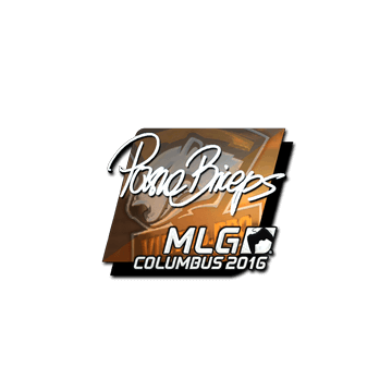 Sticker | pashaBiceps (Foil) | MLG Columbus 2016