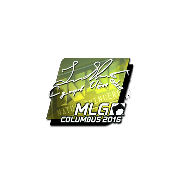 Sticker Edward (Foil) | MLG Columbus 2016