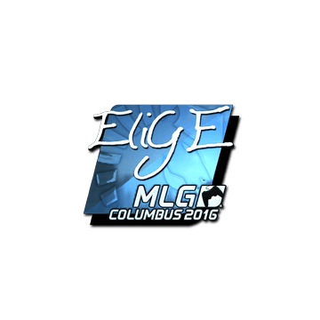 Sticker EliGE (Foil) | MLG Columbus 2016
