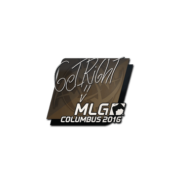 Sticker GeT_RiGhT | MLG Columbus 2016