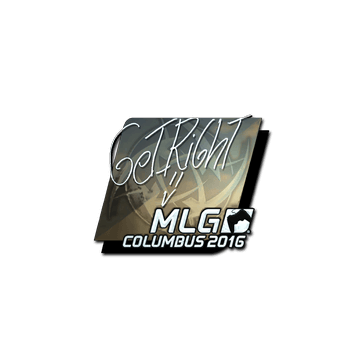 Sticker GeT_RiGhT (Foil) | MLG Columbus 2016