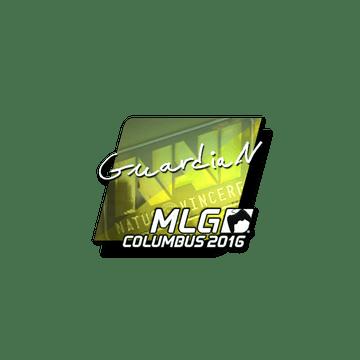 Sticker GuardiaN (Foil)   MLG Columbus 2016