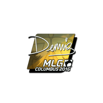 Sticker dennis (Foil) | MLG Columbus 2016