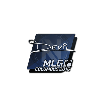 Sticker DEVIL | MLG Columbus 2016