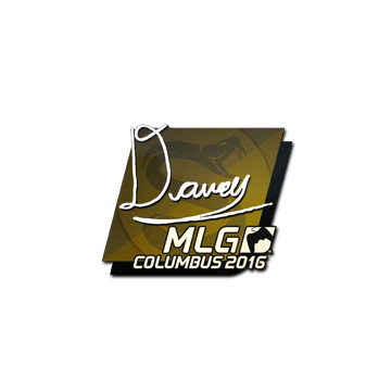 Sticker DAVEY | MLG Columbus 2016