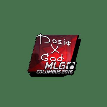 Sticker Dosia (Foil) | MLG Columbus 2016