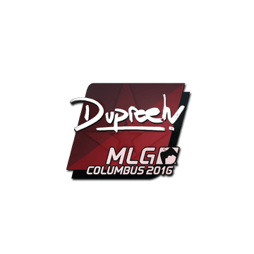 Sticker dupreeh | MLG Columbus 2016