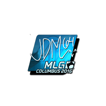 Sticker jdm64 (Foil) | MLG Columbus 2016