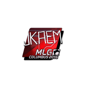 Sticker | jkaem (Foil) | MLG Columbus 2016